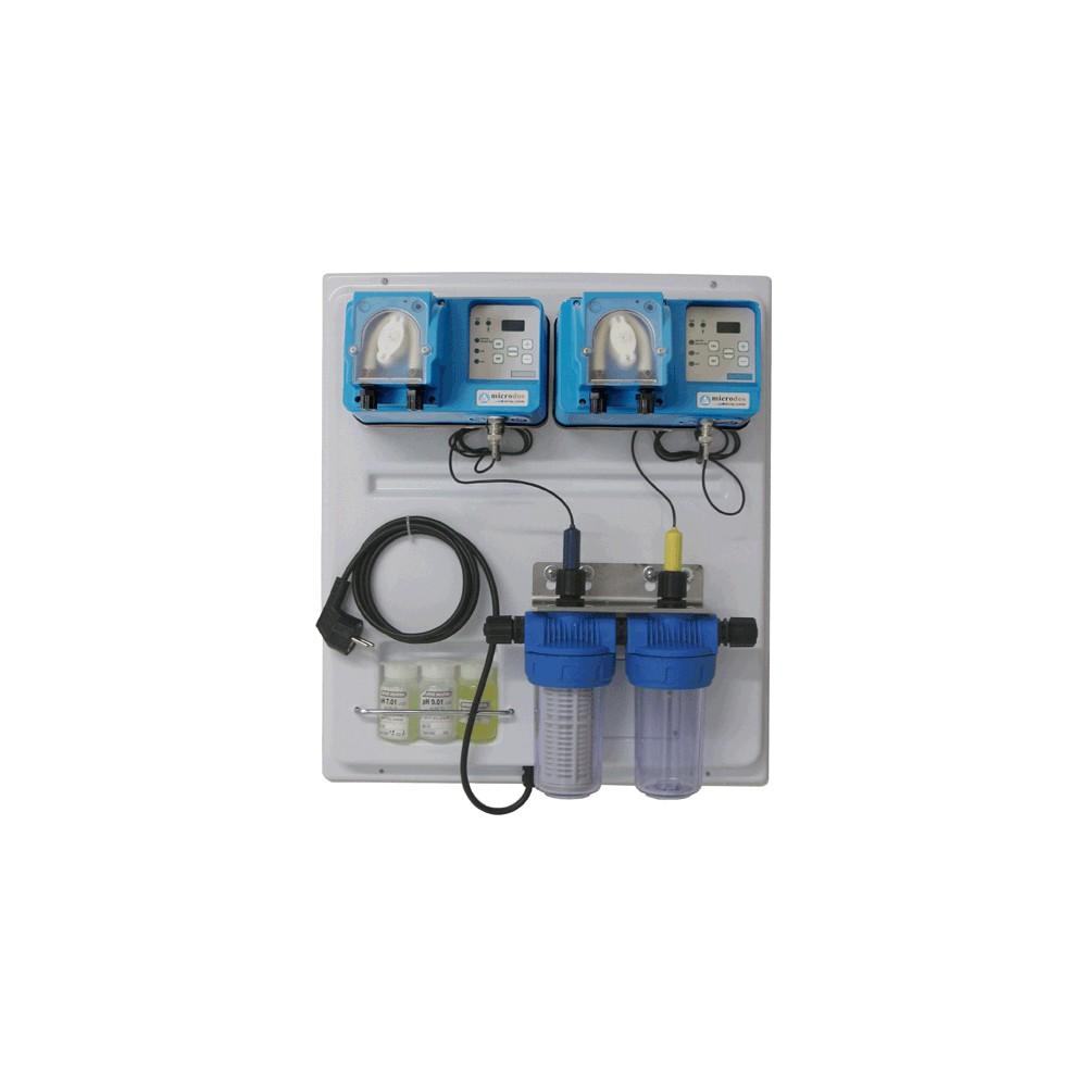 Panneau de r gulation d 39 eau de piscine chlore et ph pas cher for Regulateur ph et chlore piscine