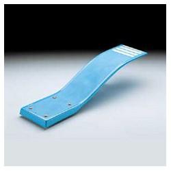Plongeoir piscine delphino flexible d 39 un logueur de 1 60m for Piscine coque polyester martinique